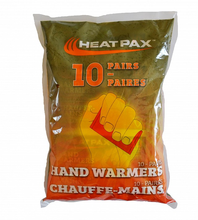 5553 HeatPax Handwarmers 10 pack- in packaging