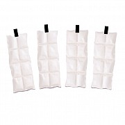 Product image for TechNiche® Cooling Inserts for Cool Pax­™ cooling Vests with Hook and Loop Stabilizers